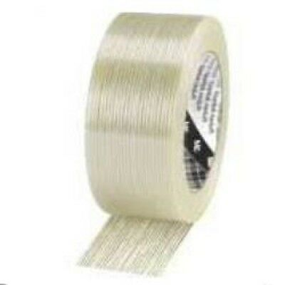 3M Tartan Full Cross Weave Reinforced Filament Tape 25/50/75mm x 50m