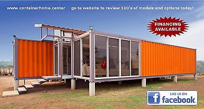 3 - 40' FT Universal Container Homes -960 Sqft - Brand New - Made in USA