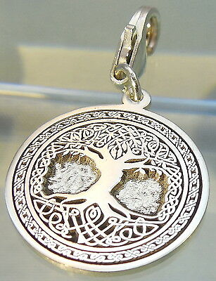 Lobster  Clasps Pendant  Celtic Tree of Life Jewelry 925 sterling silver