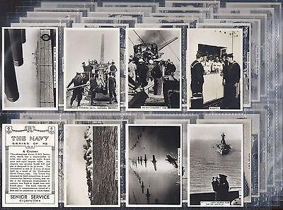 Pattreiouex-Large Card Set- The Navy - Ships Shipping - Exc+++
