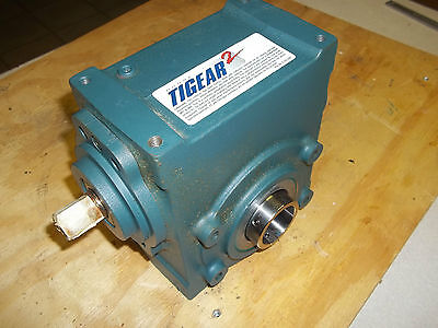 New Dodge Tigear 2 26S05Ha Right Angle Worm Gear Speed Reducer Ratio 5:1 Hp 7.37