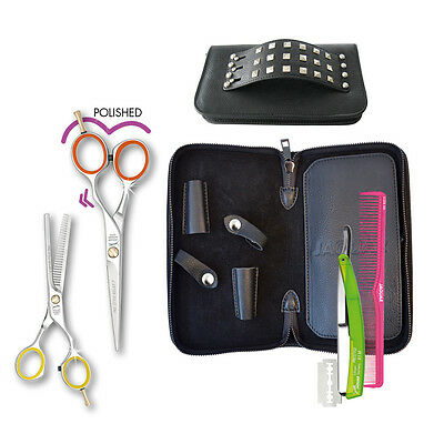 Jaguar Prestyle Ergo 5.5' Polished Hairdressing COLLEGE SET