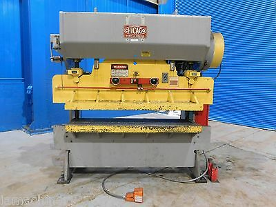 90 Ton x 8' Chicago Press Brake Punch Metal Flange Gang Punch Metal Forming