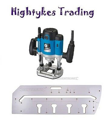 900mm Kitchen Worktop Jig and 1500w Plunge Router template