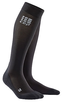 CEP Recovery Compression Socks Damen Schwarz WP45R