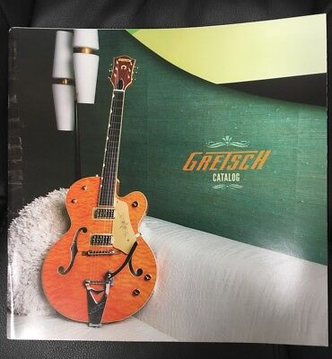 Gretsch Guitars 2015 Guitar Catalog Full Color Glossy & Gorgeous