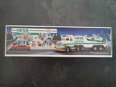 Hess Gasoline Toy Truck And Racer 1991 New In Box