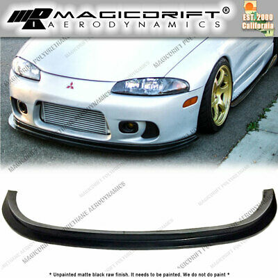 for 97 99 mitsubishi eclipse 2g dsm splitter style front bumper lip gs gsx gst 92 00 picclick for 97 99 mitsubishi eclipse 2g dsm