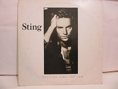 Sting -  ...Nothing Like The Sun - 2 x LP - 1987 - Spain - VG+/VG+