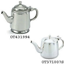 Server, Hinged Tea Gooseneck, Stainless Steel, 10 Ounce -- 12 Per Case