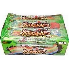 Perfetti Van Melle Xtreme Rainbow Berry Sweetly Sour Belt Airhead - 216 per case