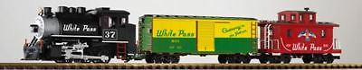 Piko G Scale Wp&yr Freight Starter Set With Analog Sound Smoke 120V | Bn | 38106