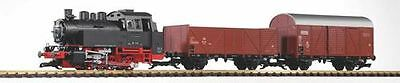 Piko G Scale Db Br80 Freight Starter Set With Analog Sound 120V | Bn | 38120