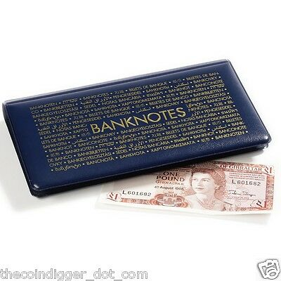 Pocket Banknote Album Wallet 20 Page Currency Holder Paper Money Book Case