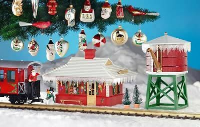 Piko G Scale North Pole Water Tower Built-Up | Bn | 62702