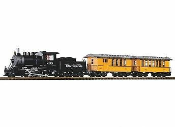 Piko G Scale D&rgw Passenger Starter Set With Analog Sound 120V | Bn | 38111