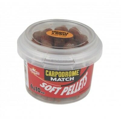 SOFT HOOK PELLETS DYNAMITE BAITS 6 ET 10MM SCOPEX PINEAPPLE alciumpeche