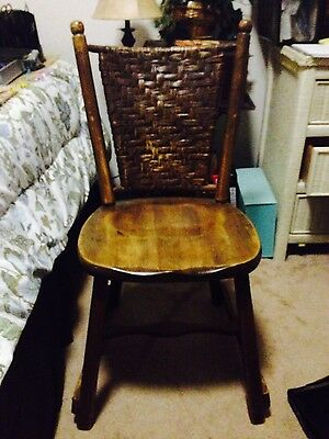 2 Beautiful & Original Old Hickory Chairs