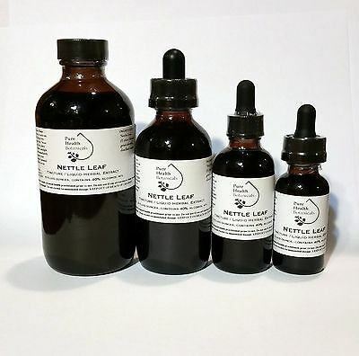 Nettle Leaf Tincture/Extract, Allergies, Allergy, Highest Quality Mult Sizes
