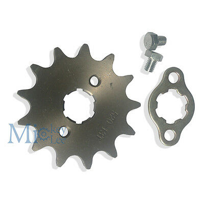 520 -13T Front Sprocket Kit for Honda CR125 XR200 CMX250 Pit Bike Motorcycle