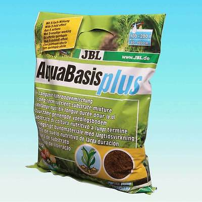 JBL Aquabasis plus 2,5 L, 5 L  planted tank substrate nutrient soil • EUR 14,76