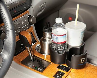 Sunshine Kids® Trio Cup Water Milk Bottle Holder for Car and Car Seat - Make 1