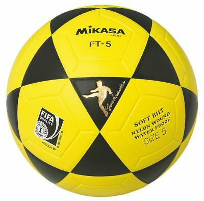Mikasa FT-5 BKY, FIFA Inspected Top-Foot-Volleyball für Outdoor Nutzung Gr.5