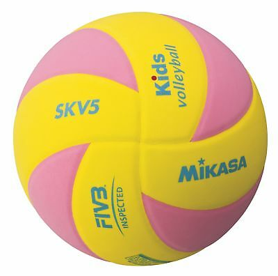 Mikasa SKV5-YP Kids Ball FIVB Volleyball Ball Sportball Kinder ab 4 Jahren