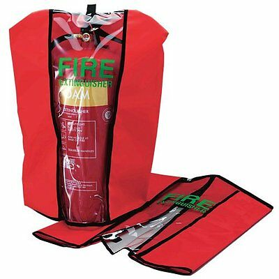 New 6 Litre Foam (Afff) Fire Extinguisher With Cover - British Standard Kitemark