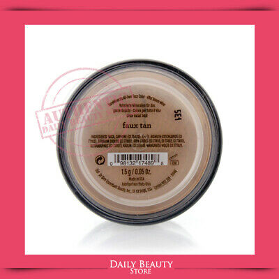 BareMinerals All Over Face Color Faux Tan 0.05oz NEW FAST SHIP