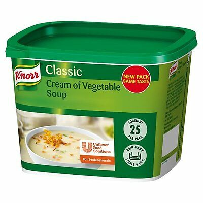 Knorr Classic Cream Of Vegetable Soup 25 Portions