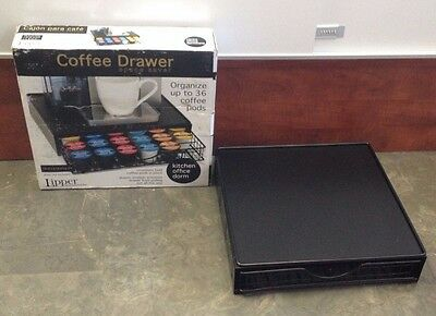 Lipper Coffee Drawer Space Saver UP To 36 Coffee Pods