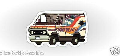 Steven Universe Van The Crystal Gems Sticker decal car laptop scrapbook