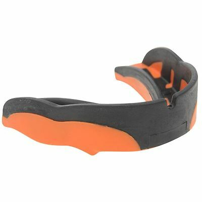 Shock Doctor v1.5 Mouth Guard Mouthguard Gum Shield Orange Black