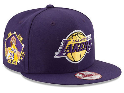 5ddfd328836 Official Los Angeles Lakers Kobe Bryant Retirement New Era 9FIFTY Snapback  Hat