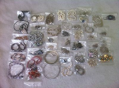 "Vintage Sterling Silver Jewelry Lot 190 Pieces Sterling,with&without stone""L@@K"""