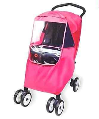 Hippo Collection Universal Stroller Weather Shield - pink, one size
