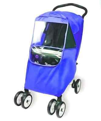 Hippo Collection Universal Stroller Weather Shield - royal blue, one size