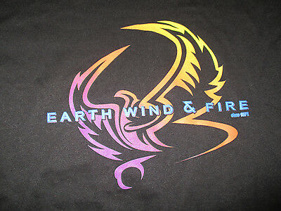 EARTH WIND FIRE Since 1971 (LG) T-Shirt Maurice Verdine White Philip Bailey