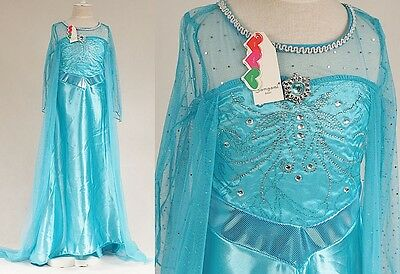 Frozen - Vestiti Carnevale Elsa 4-12 Y anni - Dress up Elsa Costumes 789020