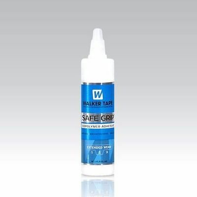 Walker Safe Grip Adhesive  Hairpiece, Hair Replacement System Wig Glue 1.4 oz