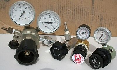 Assorted Gas Regulators and Valves (pkg. of 4 pieces) shown in image
