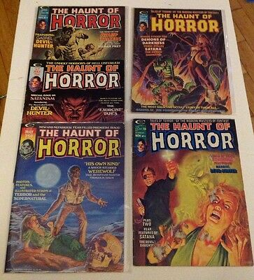 The Haunt Of Horror 1-5 Comics/Magazines 70's