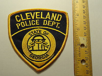 City of Cleveland Georgia Police Patch - New