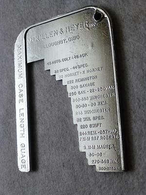 McKillen & Heyer Inc. Maximum Case Length Guage ~ Rifle / Pistol