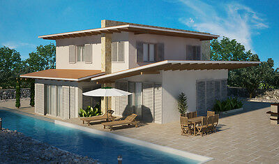 House plan - Colonna mediterranea 1 - custom blueprints