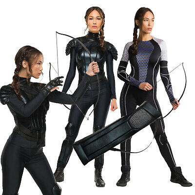 Womens Rubies Hunger Games Katniss Everdeen Fancy Dress Costumes Or Accessories