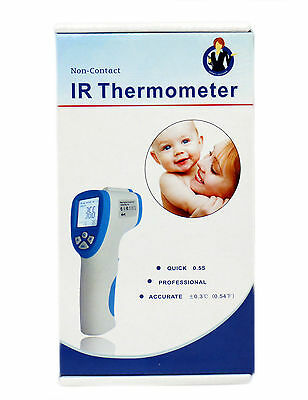 Adult, Child, Pet Body Thermometer Contactless Infrared Digital +/-0.3 Accuracy