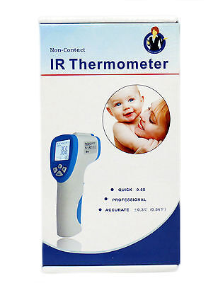 Contactless Body Thermometer Adult Child Pet  Infrared Digital  +/-0.3 Accuracy