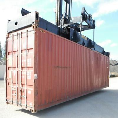 40Ft Hi Cube Cargo Shipping Containers... Miami Best Price Guarantee